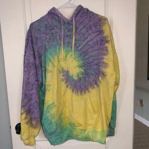 Tops - Tie dye hoodie